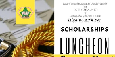 High #CAP'n For Scholarships Luncheon Signing Day!