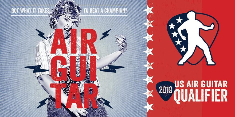 Image result for 2019 Sacramento Air Guitar Regional Qualifier
