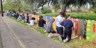 Oak Park Art Garden: Community Action Day