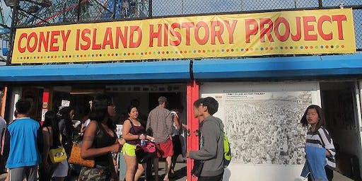 Coney Island History Project Walking Tour - May 25 - July 14, 2019