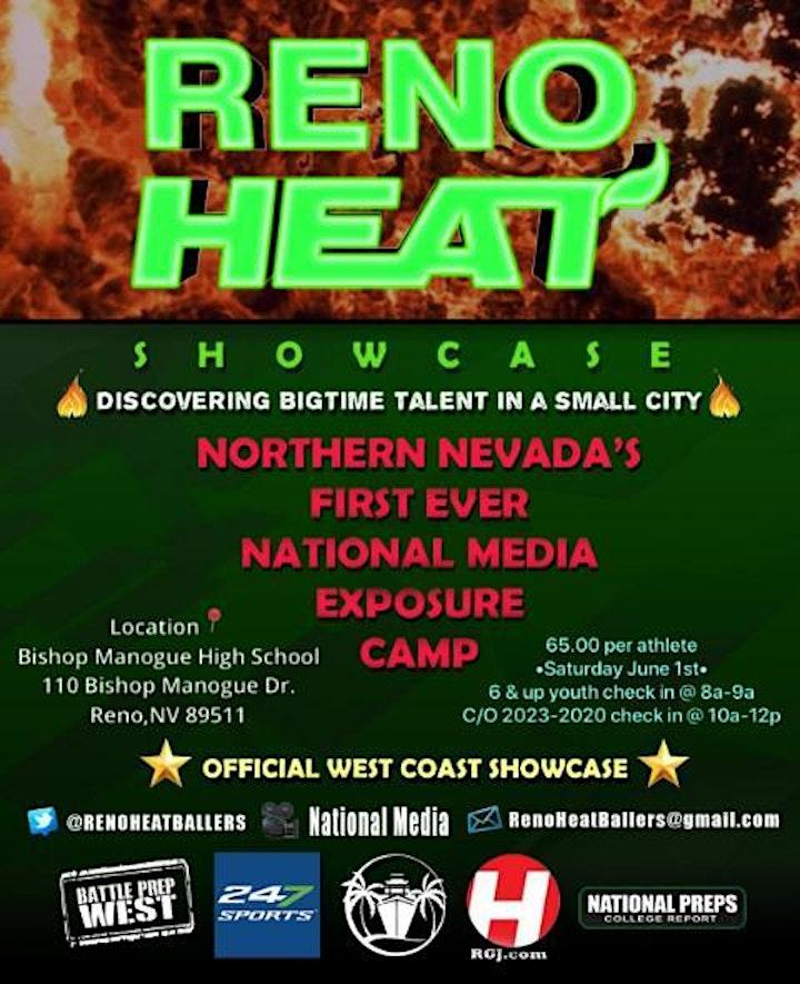 Reno Heat Youth and High School Football Showcase image