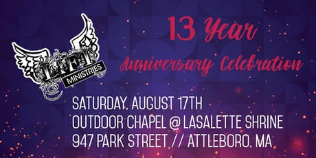 LIFT Ministries' 13 Year Anniversary Celebration BBQ tickets