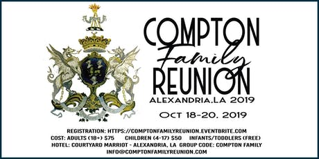 2019 Compton Family Reunion  tickets