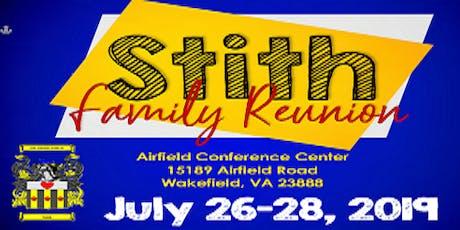 Stith Family Reunion 2019 tickets