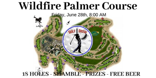 18 Hole Golf Tournament at Wildfire Palmer Course ⛳