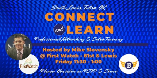 South Lewis:  Connect & Learn | Professional Networking and Sales Training