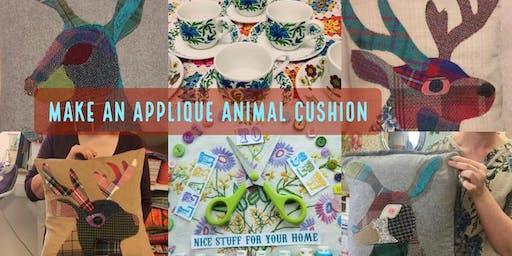Make an Applique Animal Cushion