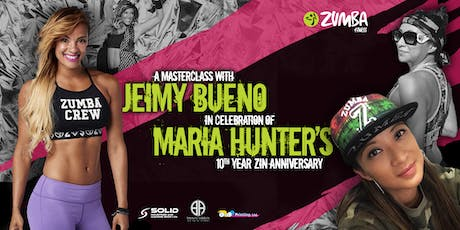 Maria Hunter's 10th Zin Anniversary Masterclass with Jeimy Bueno! tickets