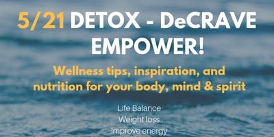 Detox - DeCrave - Empower Workshop