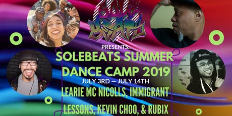 SoleBeats Summer Dance Camp tickets