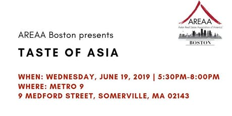 Taste of Asia tickets