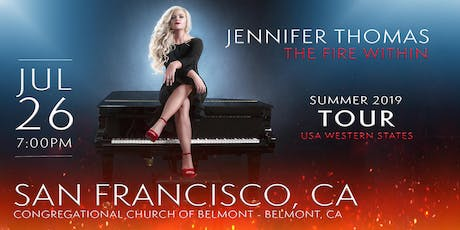Jennifer Thomas - The Fire Within Tour (San Francisco, CA) tickets