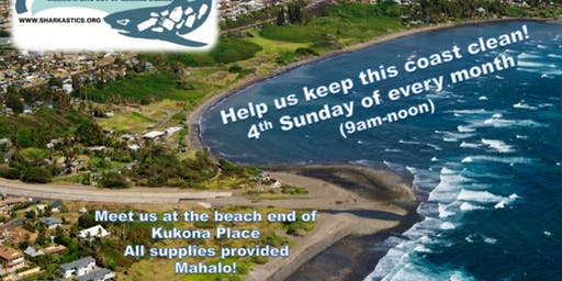 SHARKastics: Kaʻehu Beach Cleanup (MAUI)