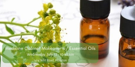 Medicine Cabinet Makeover with Essential Oils tickets