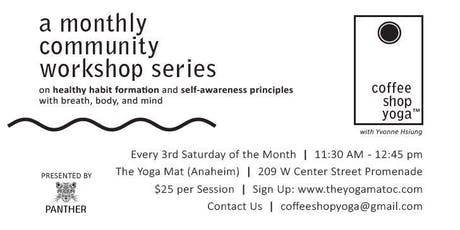 Coffee Shop Yoga™ presented by Panther tickets