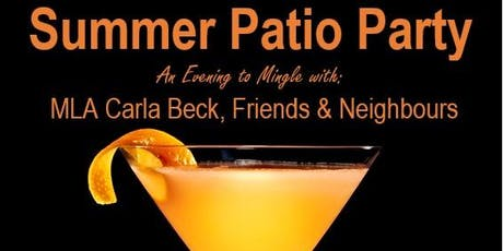 Summer Patio Party tickets