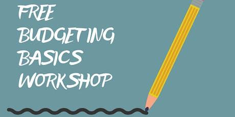 FREE Budgeting Basics Workshop tickets