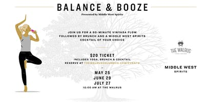 May Balance & Booze with Middle West Spirits