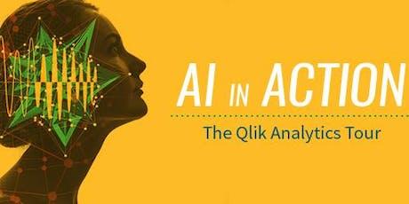 Qlik Analytics Tour - AI in Action (26 June 2019) tickets