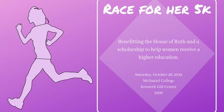 4th Annual Race for Her 5K tickets