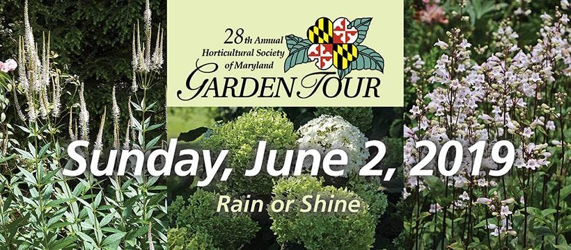 28th Annual Horticultural Society Of Maryland Garden Tour 2 Jun 2019