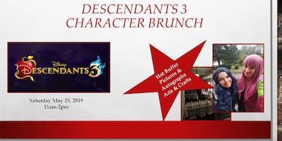 Descendants 3 Character Brunch