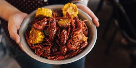 Summer Crawfish Boil | Wine vs. Beer Dinner Series