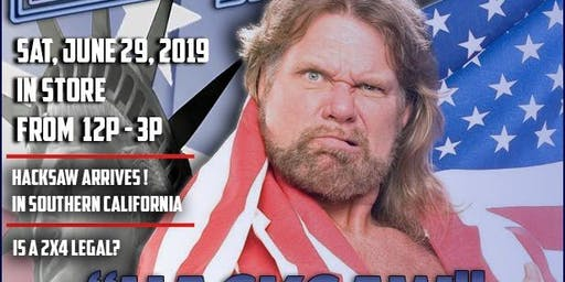 WWE LEGEND HACKSAW JIM DUGGAN MEET & GREET