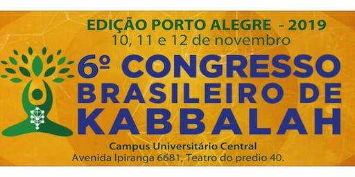6o. Congresso Brasileiro de Kabbalah, Edição Porto Alegre, 2019
