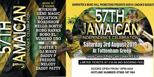 JAMAICA'S 57TH YEAR INDEPENDENCE