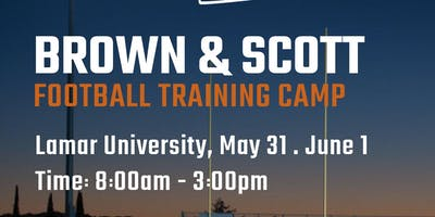 Camp Guys Presents Brown & Scott Football Training Camp