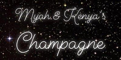 Myah And Kenya Champagne Party