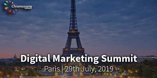 DIGITAL MARKETING SUMMIT PARIS,29TH JULY, 2019