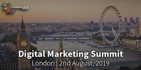 DIGITAL MARKETING SUMMIT London ,2nd August,2019 tickets