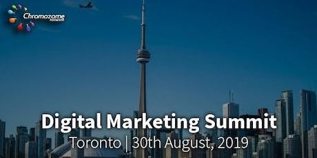 DIGITAL MARKETING SUMMIT Toronto,13th  November, 2019 tickets