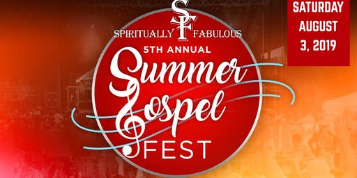 5th Annual Summer Gospel Fest