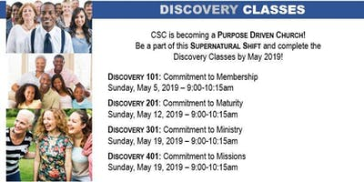 CSC Discovery Classes
