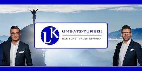 L&K Umsatz Turbo - Das Durchbruch Seminar Tickets