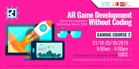 "Gaming Course 2: ""AR Game Development Without Coding""  tickets"