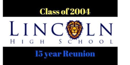 LHS 15 yr. Reunion - Class of '04 @ TIKI PETE