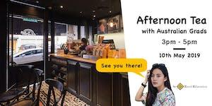 Afternoon Tea with Australian Grads at Jardin Coffee an...