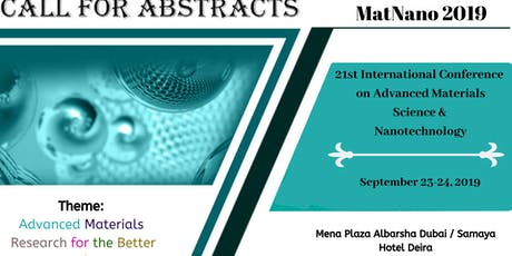 21st International Conference on  Advanced Materials Science & Nano Technol tickets