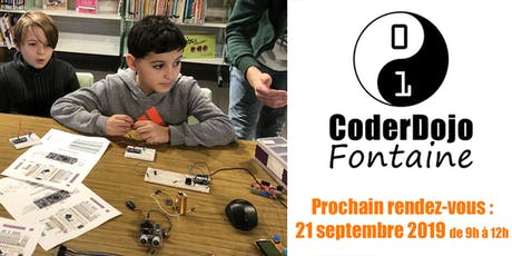 CoderDojo Fontaine - 21/09/2019 billets