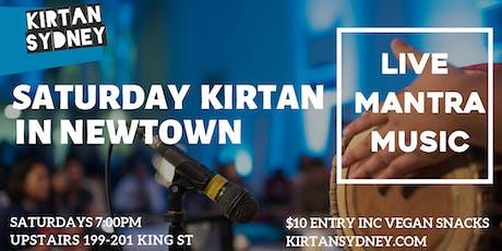 Saturday Kirtan/Chanting in Newtown - Live Mantra Music Meditation - Kirtan Sydney  tickets