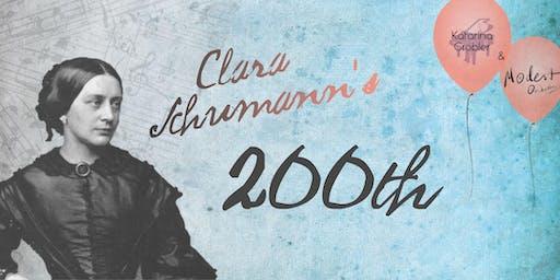 Clara Schumann's 200th Anniversary Concert