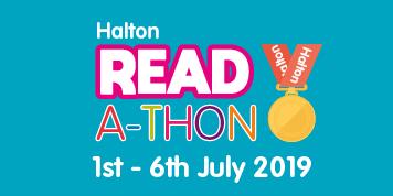 Halton Readathon 2019 - Read in the Library (Runcorn Library)