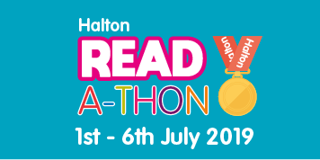 Halton Readathon 2019 - Read in the Library (Widnes Library)