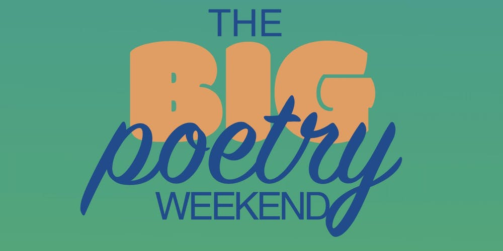 The Big Poetry Weekend Tickets, Thu 3 Oct 2019 at 18:00   Eventbrite
