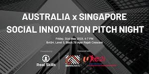 Australia x Singapore Social Innovation Pitch Night