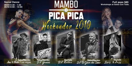 Mambo Pica Pica - Weekender 2019 tickets